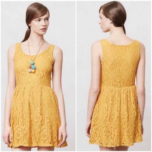 Bergamot Canary Yellow Dress Moulinette Soeurs S